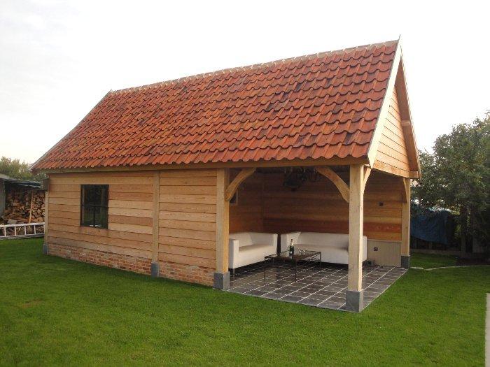 Tuinhuis tuinhuis met sauna : Polmans - Voorbeelden